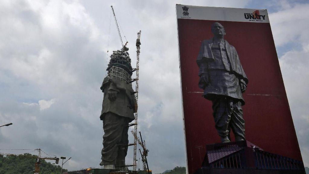 India Bangun Patung Tertinggi di Dunia