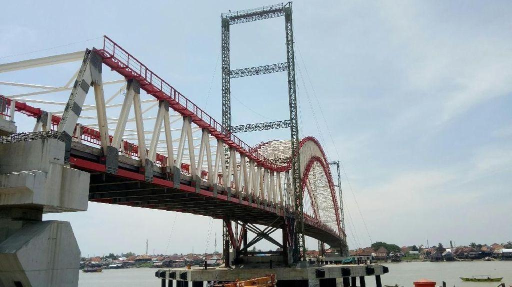 Proyek Jembatan Musi VI Terhambat Rumah Warga