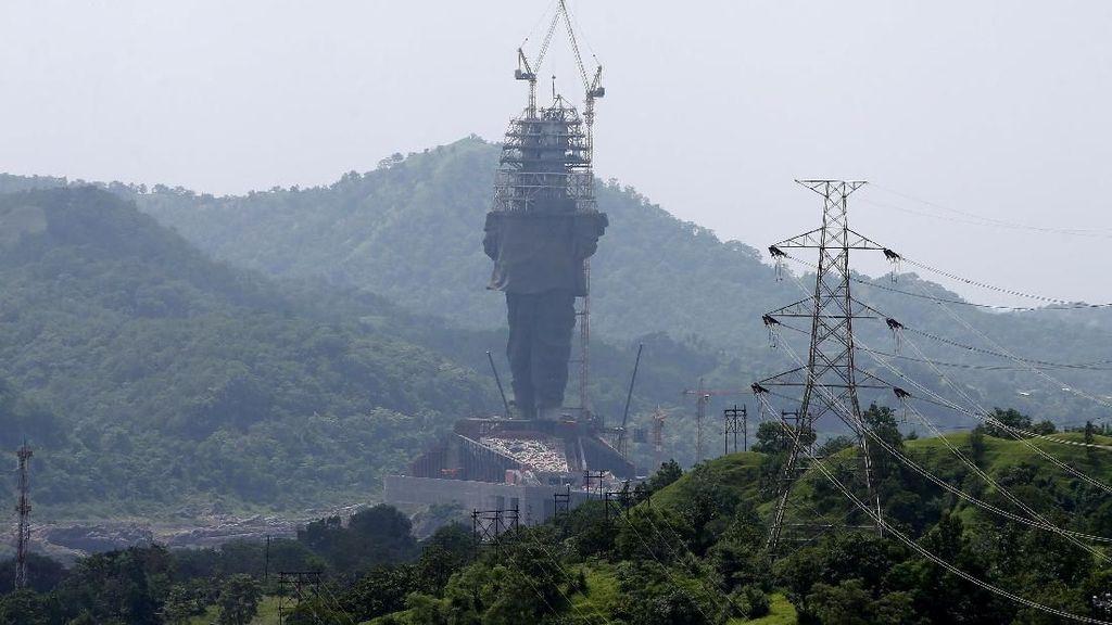 Garuda Wisnu Kencana Kalah, Ini Patung Tertinggi di Dunia