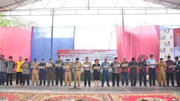 Cegah Kasus Meliana Terulang, Polisi Gelar Deklarasi Kebangsaan