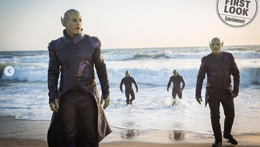 Infinity War Bawa Sosok Thanos, Captain Marvel Perkenalkan Talos
