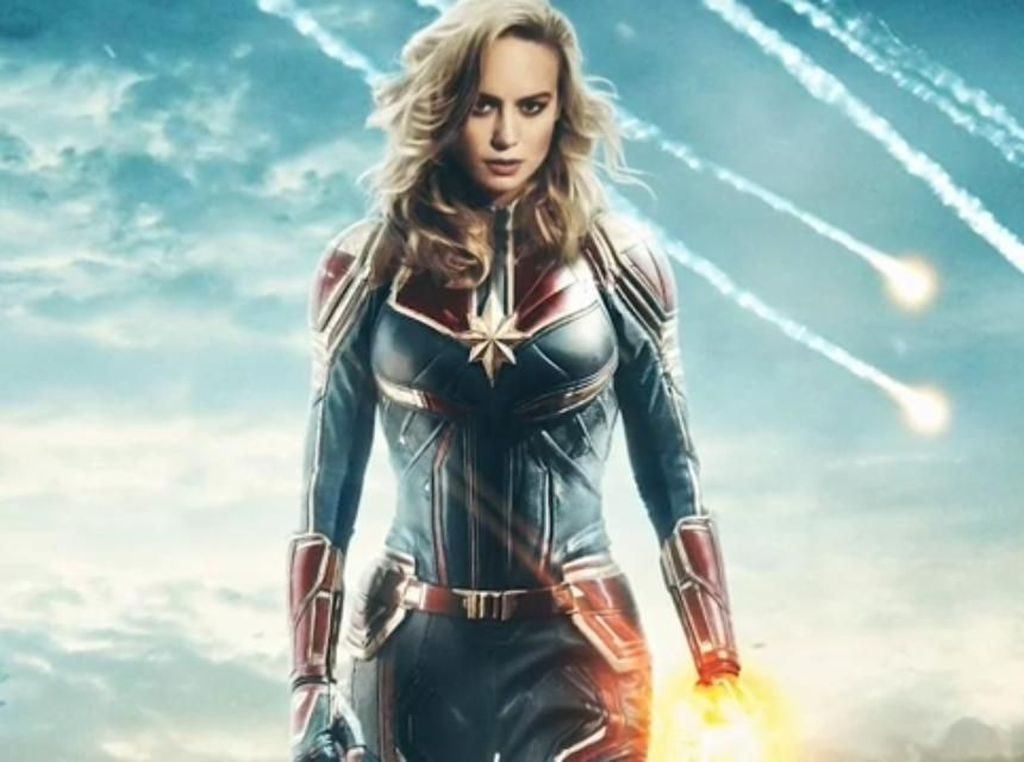 Ini Trailer Perdana Captain Marvel