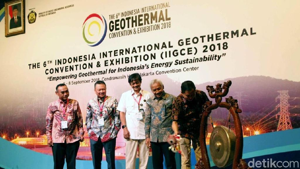 Kementerian ESDM Dorong Pengembangan Panas Bumi di Indonesia
