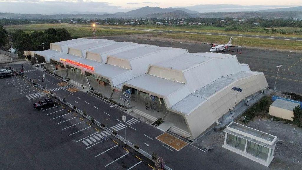 Pak Jokowi, Terminal Cantik Bandara Sumbawa Siap Diresmikan