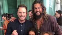 Tak jarang pula ia mengajak buah hatinya itu saat berkumpul bersama rekan-rekan aktor.Dok. Instagram/prideofgypsies