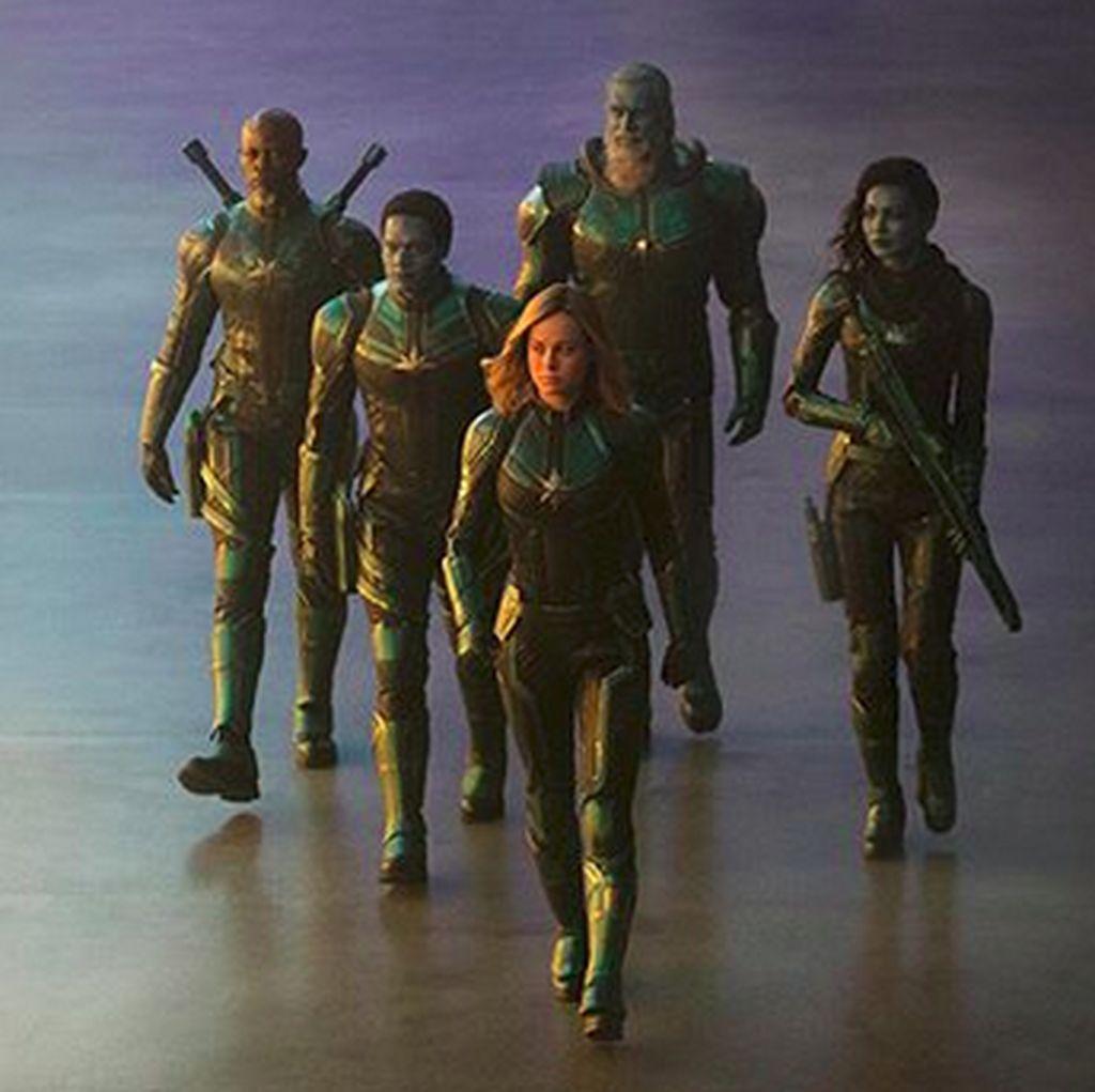Captain Marvel: Sekadar Jembatan Menuju Endgame