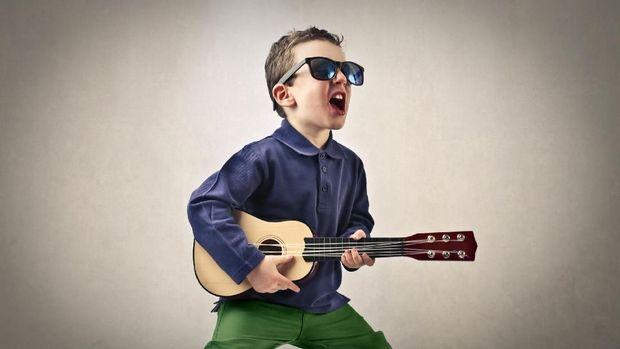 Anak Dengar Musik Rock seperti Lagu Guns N Roses