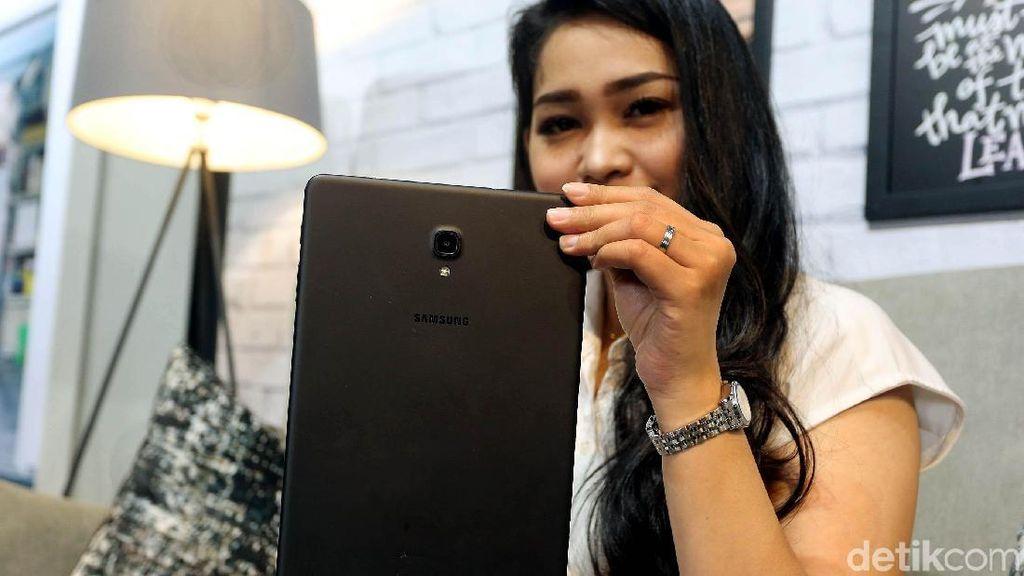 Penampakan Galaxy Tab A 2018, Tablet Rp 5 Juta