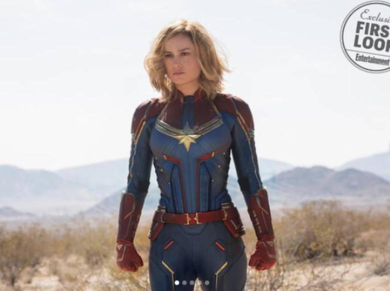 5 Kekuatan Captain Marvel untuk Kalahkan Thanos
