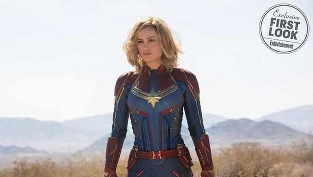 Cantiknya Brie Larson, Si Captain Marvel yang Anggun di Karpet Merah
