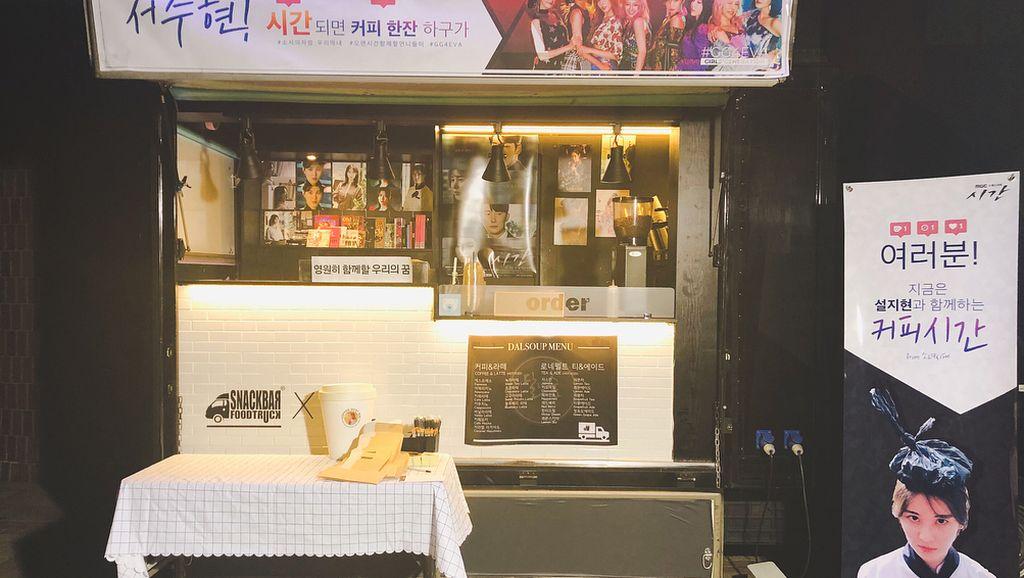 Seohyun Terharu Dapat Kiriman Food Truck dari Anggota Girls Generation
