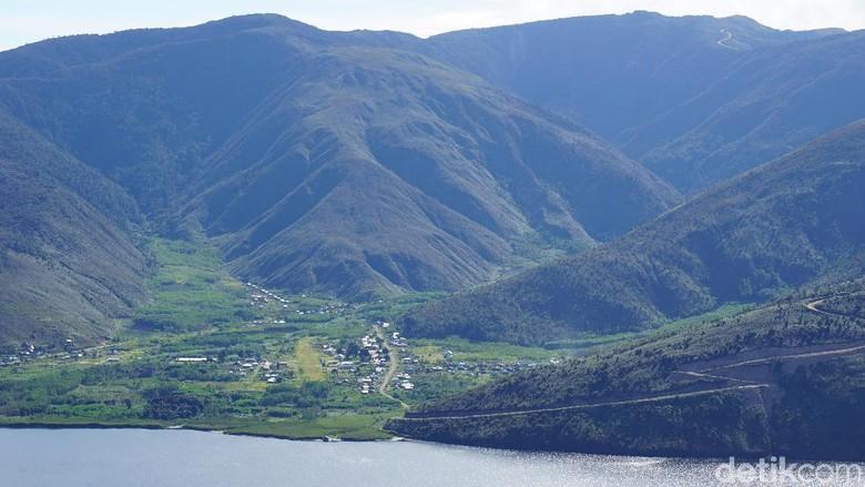 Danau Anggi Giji di Pegunungan Arfak (Masaul/detikTravel)