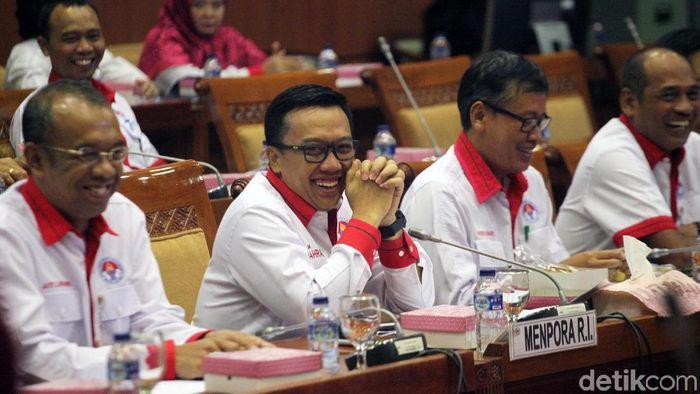 Anggaran Kemenpora 2019 nyaris Rp 2 triliun. (Foto: Lamhot Aritonang)