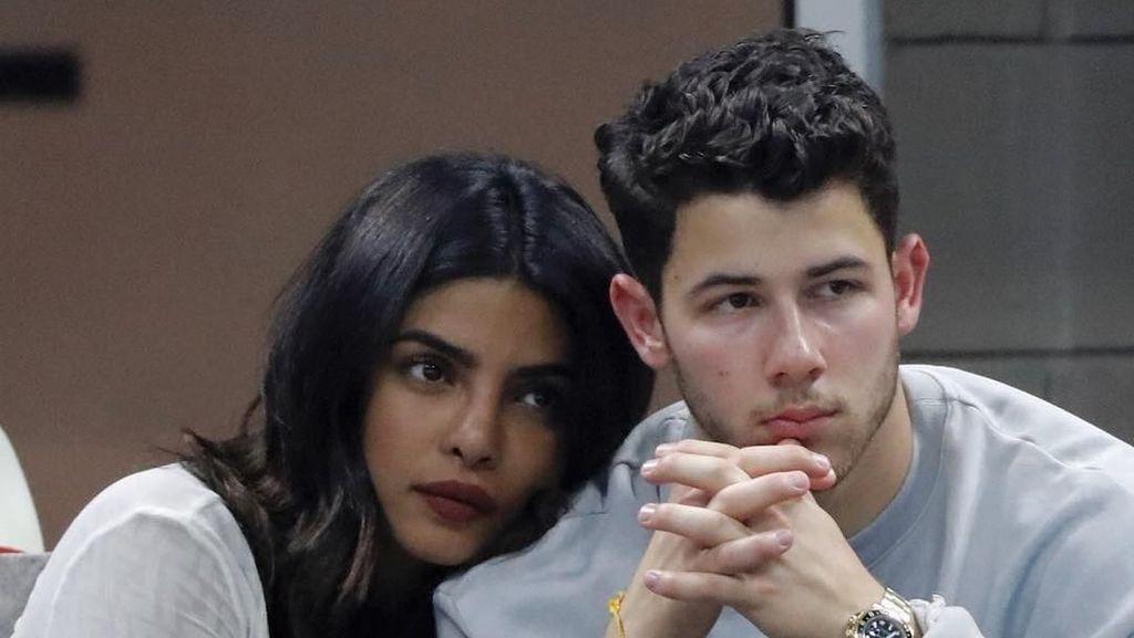 Awas Baper! Mesranya Priyanka Chopra dan Nick Jonas Nonton Turnamen Tenis