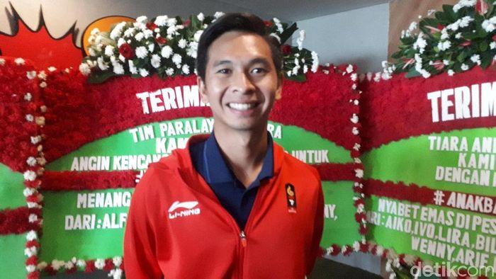 Petenis Indonesia Christopher Rungkat (Foto: Mercy Raya/detikSport)