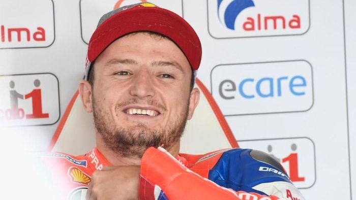 Jack Miller terkesan dengan motor Ducati Desmosedici GP19. (Foto: Mirco Lazzari gp/Getty Images)