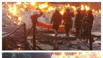 Kebakaran di Pabrik Aluminium, 1 Orang Tewas dan 3 Luka Bakar
