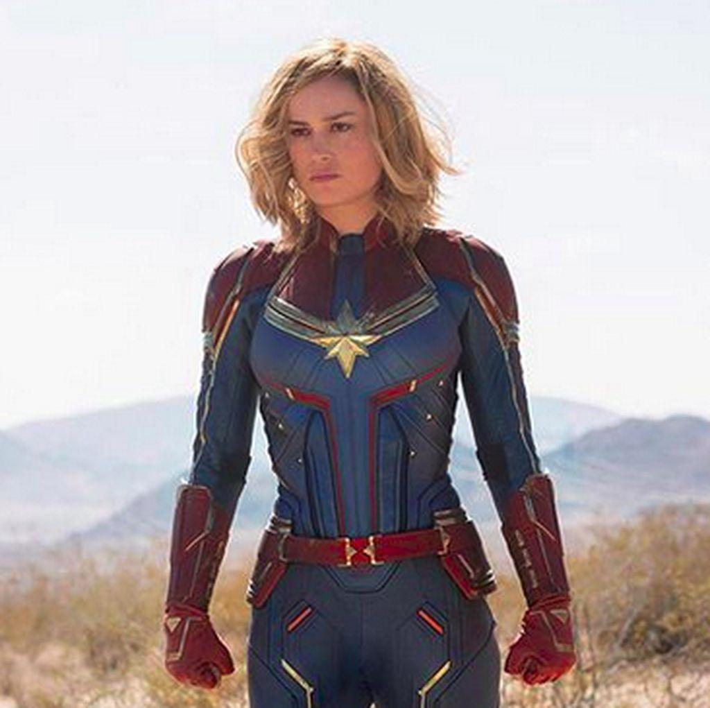Ini Persamaan Captain America dengan Captain Marvel