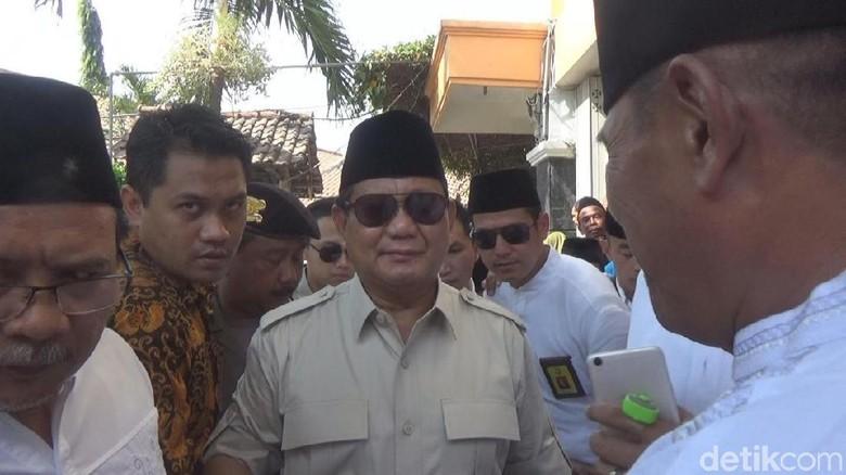 Prabowo Mengaku Tak Tahu Soal '2019PrabowoPresi Den'