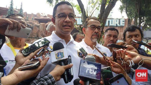 Gubernur DKI Jakarta Anies Baswedan, di Jakarta, Kamis (6/9).