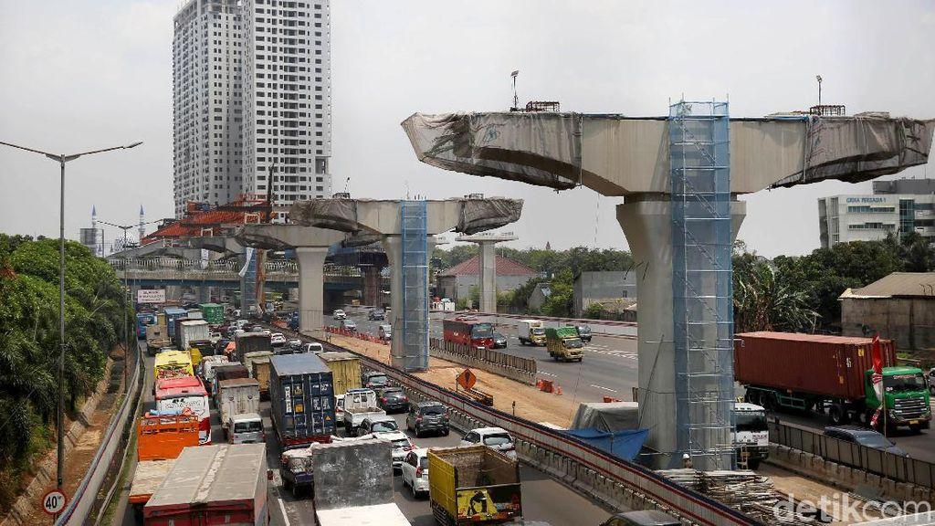 Proyek LRT dan Kereta Cepat yang Ditunda Kemenhub Hanya di Lokasi Ini
