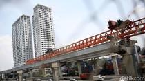 Pembangunan Jalan Tol Jakarta-Cikampek Elevated Dikebut
