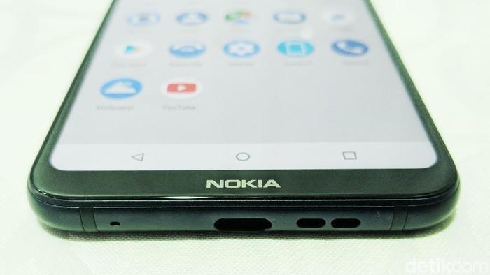Tampilan UI di smartphone Nokia yang bersih ala Android murni. (Foto: detikINET/Adi Fida Rahman)