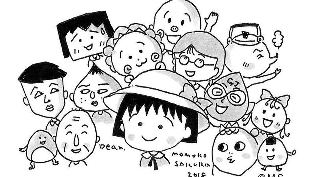 Mengenang Momoko Sakura, Kreator Kartun Anak Chibi Maruko Chan