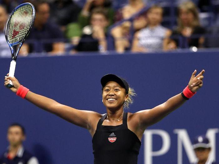 Naomi Osaka jadi petenis wanita Jepang pertama yang masuk ke final Grand Slam (Matthew Stockman/Getty Images)