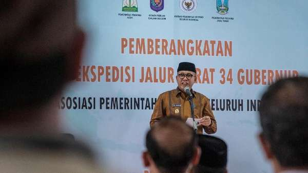 Dukung Pemilu Damai, Plt Gubernur Aceh: Kita Bosan dengan Konflik