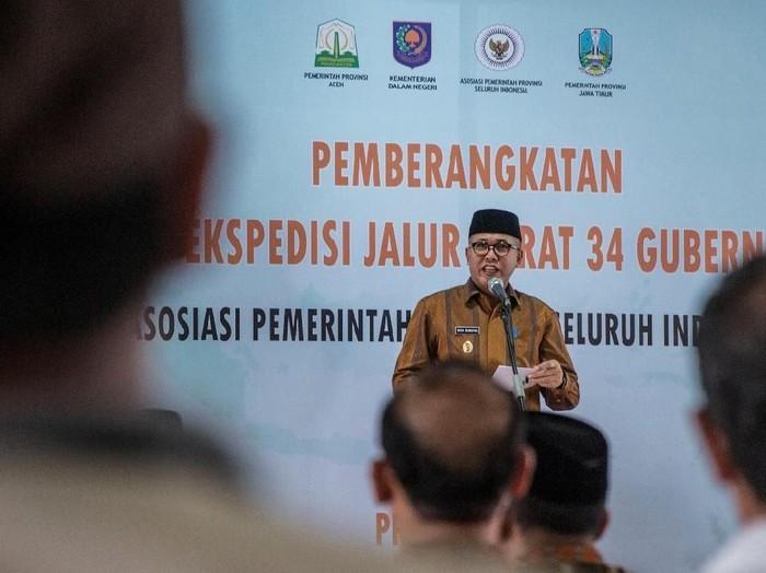 Plt Gubernur Aceh Nova Iriansyah