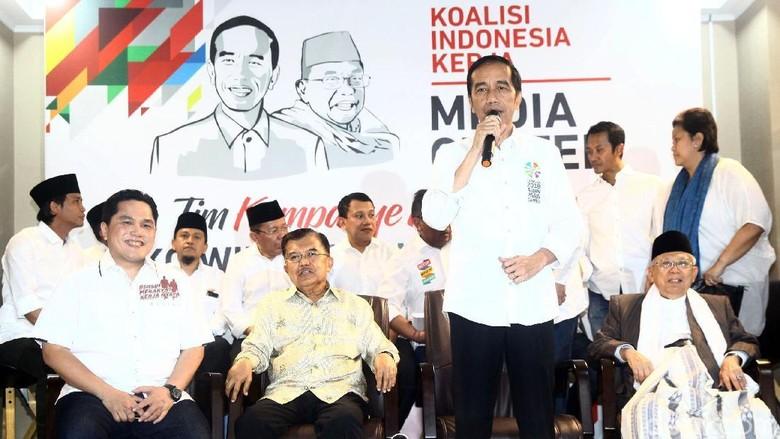 Tandingi Gerakan Emas Prabowo, Tim Jokowi Tawarkan Manusia Unggul