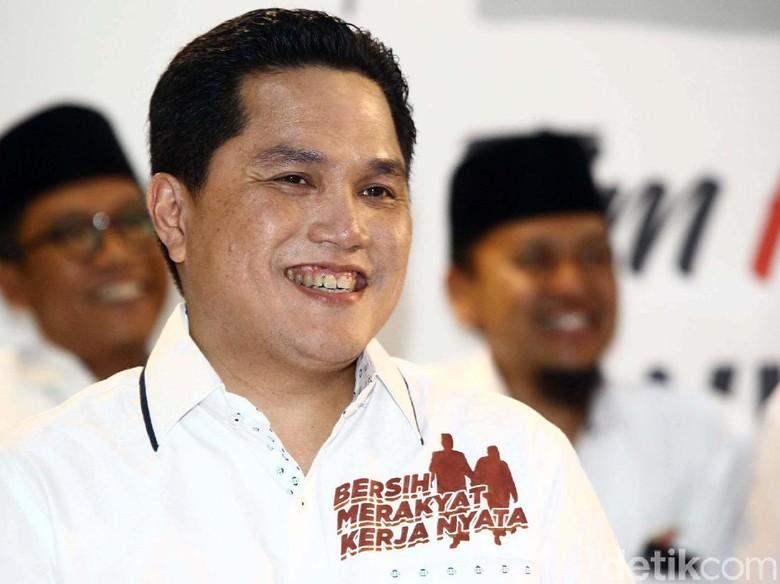 Erick Thohir Pertanyakan Permintaan Maaf Prabowo Soal ''Tampang Boyolali''