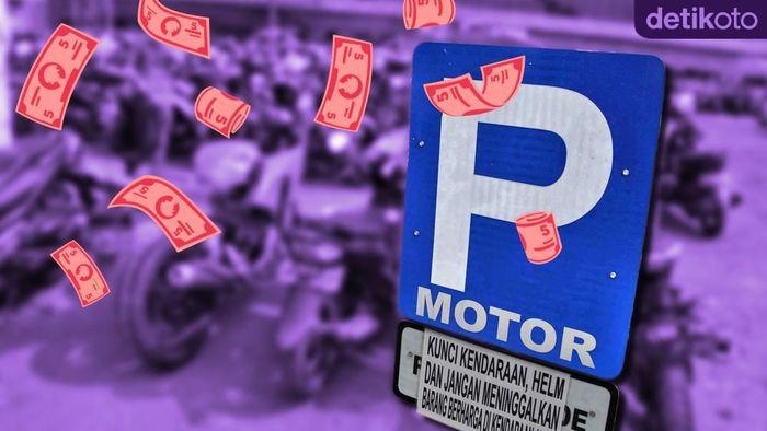 Parkir Motor Bawa Hoki