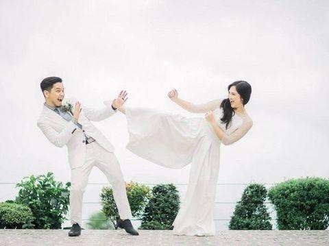 Setelah 13 tahun menjalani LDR, Jet dan Alia menikah