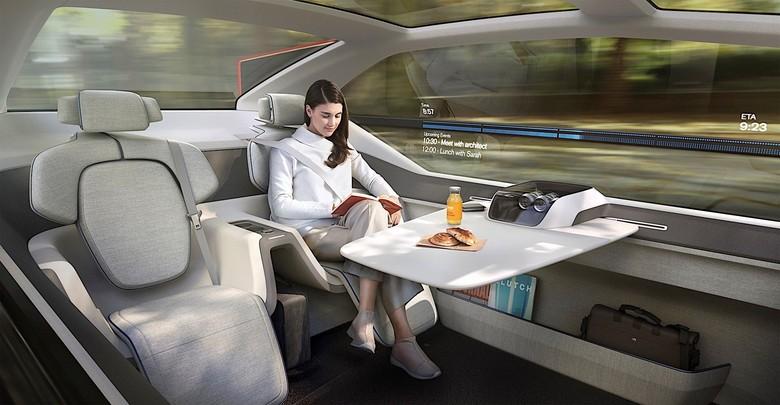 Interior mobil otonom. Foto: Pool (Autoevolution)