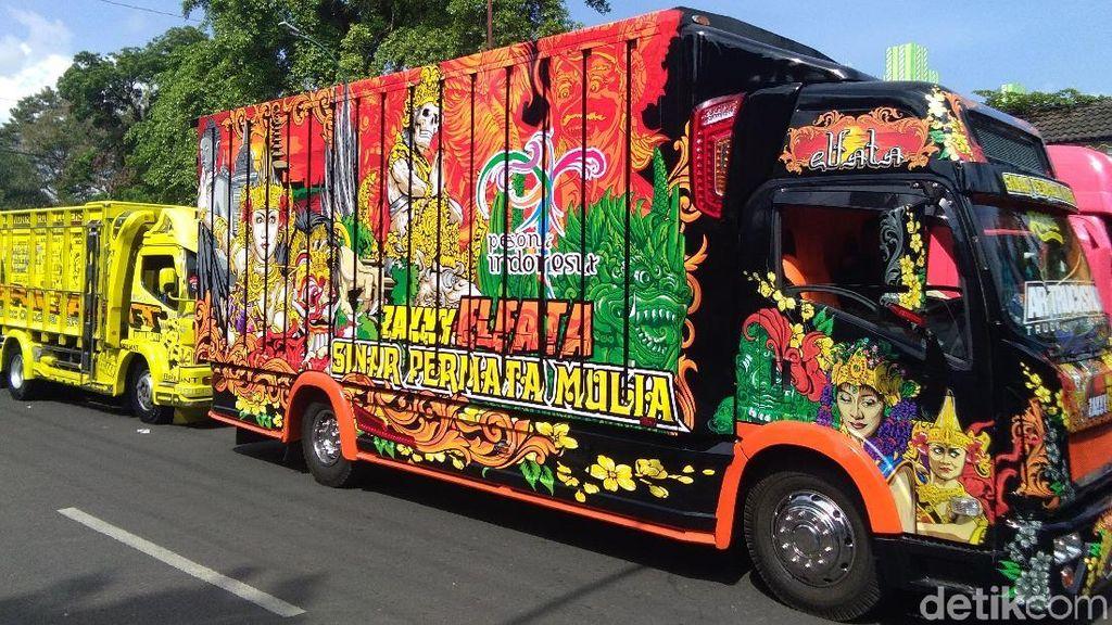 Ratusan Mini Transformers Adu Ganteng di Yogyakarta