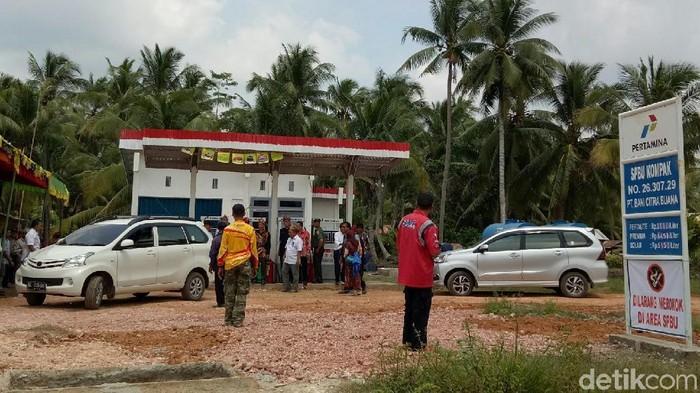 BBM Satu Harga di pelosok Sumatera Selatan