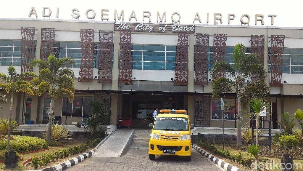 Sempat Tutup karena Kabut Tebal, Bandara Solo Sudah Dibuka Lagi