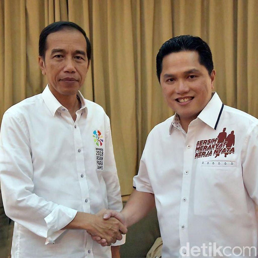 Erick Thohir: Saya Mundur dari Timses Jika Jokowi Jadi Raja