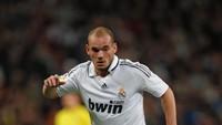 Sneijder Bisa Saja Selevel Messi-Ronaldo, tapi Lebih Suka Nikmati Hidup