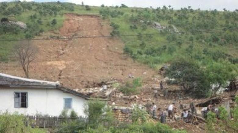 Parahnya Banjir Korut yang Tewaskan 76 Orang, Puluhan Hilang