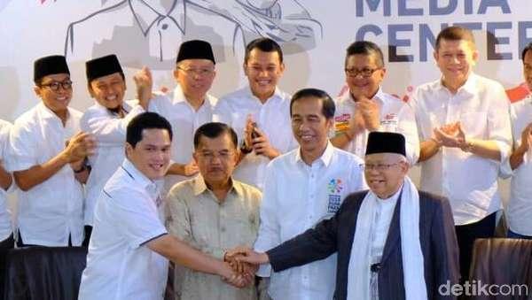 Ketua Timses Bukan Politikus, Jokowi: Ini Urusan Manajemen