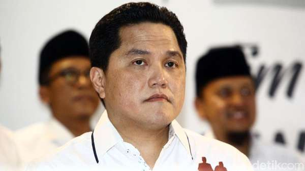 Perjalanan Karier Erick Thohir, Ketua Timses Jokowi-Maruf