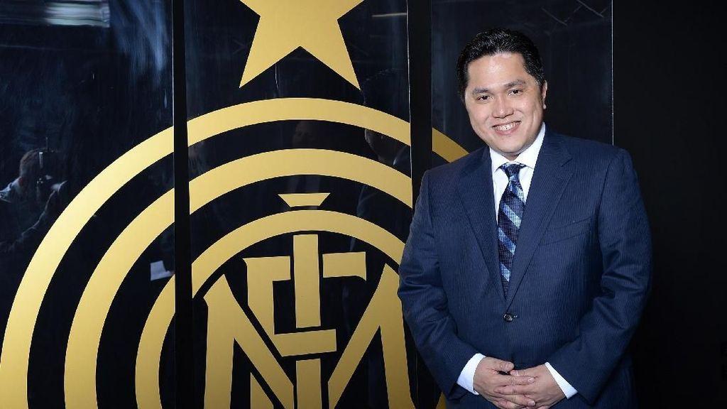 Ini Alasan Erick Thohir Lepas Jabatan Presiden Inter Milan