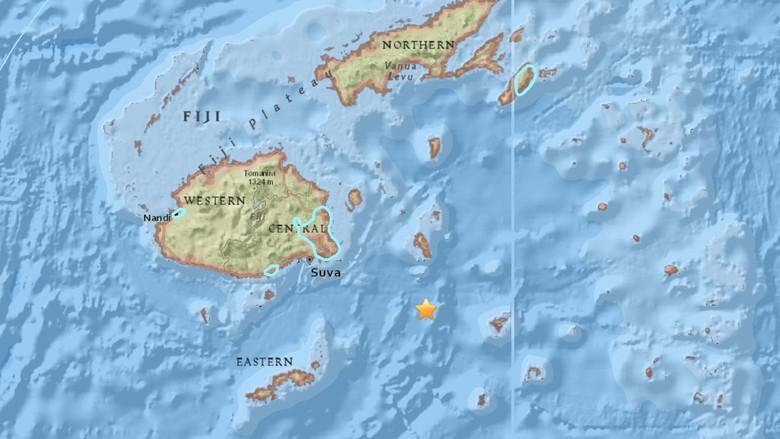 Gempa 7,8 SR Guncang Fiji