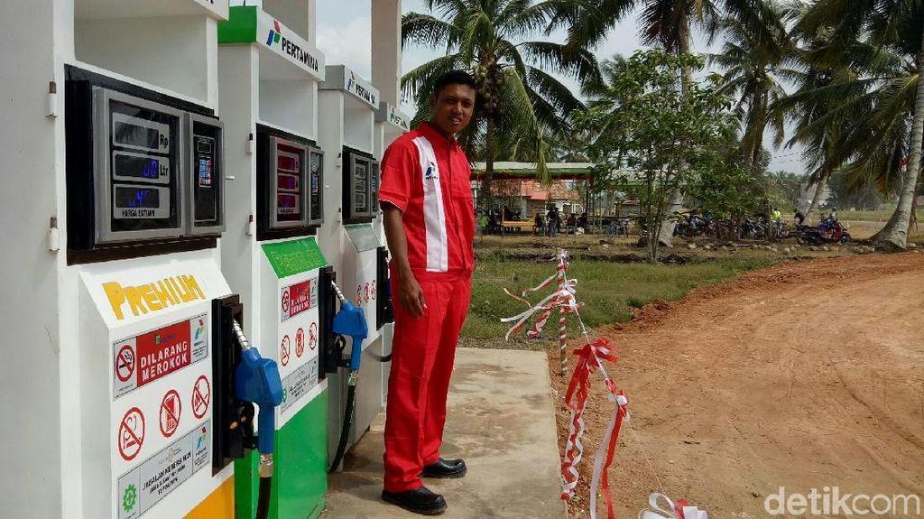 BBM Satu Harga Hadir di Pelosok Sumsel, 7 Jam dari Palembang