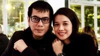 Gista dan Wishnutama dipersatukan dalam pernikahan setelah kerap bertemu di NET TV karena kerja bareng. Foto: Dok. Instagram