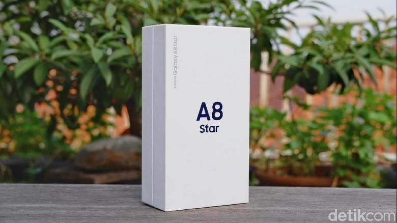 Inilah Samsung Galaxy A8 Star. Foto: Adi Fida Rahman/detikINET