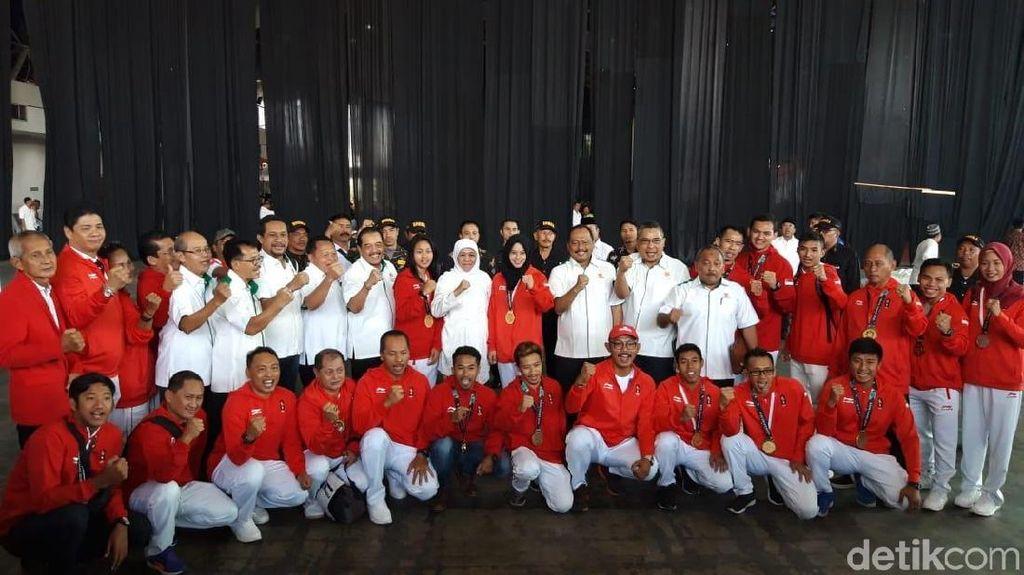 Undang Atlet Jatim Ikut Asian Games, Khofifah: Olahraga Itu Pemersatu